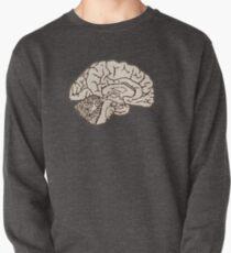 hemisected brain Pullover