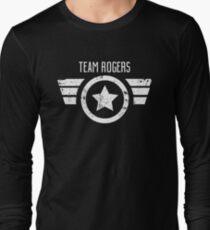 Team Rogers - Civil War Long Sleeve T-Shirt