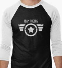 Team Rogers - Civil War Men's Baseball ¾ T-Shirt
