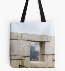 Peru, Cuzco, Old ruins of  Machu Picchu Tote Bag