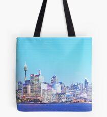 Sydney City CBD Vaporwave Landscape Tote Bag