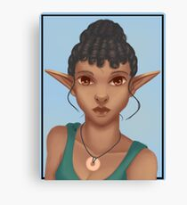 Woman Elf Canvas Print