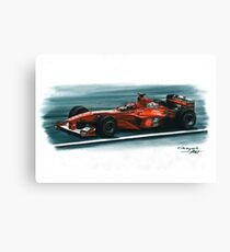 2000 Ferrari F1-2000 Canvas Print