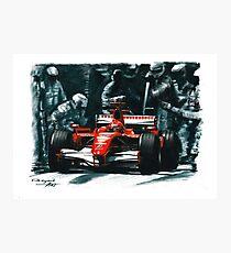2006 Ferrari 248 F1 Photographic Print