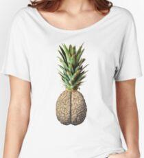 Pinebrain (pineapple) Women's Relaxed Fit T-Shirt
