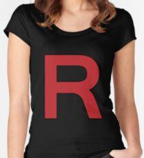 Pokemon - Team Rocket Logo Women's Fitted Scoop T-Shirt