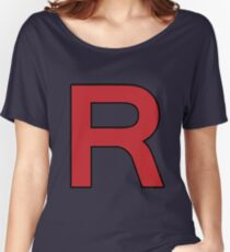 Pokemon - Team Rocket Logo Women's Relaxed Fit T-Shirt