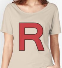 Pokemon - Team Rocket Logo Women's Relaxed Fit T-Shirt