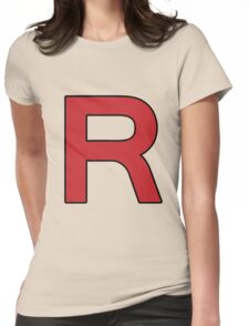 Pokemon - Team Rocket Logo Womens Fitted T-Shirt