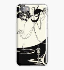 Aubrey Beardsley - Fantasy Illustration - Salome iPhone Case/Skin