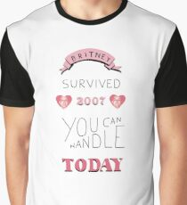 Britney survived 2007 Graphic T-Shirt