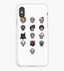 The Binding of Isaac characters iPhone Case/Skin