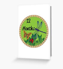 12 Months Greeting Card