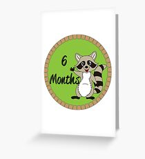 6 Months Greeting Card