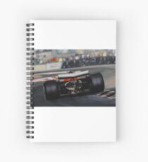 Gilles Villeneuve, Ferrari 312T5 Spiral Notebook