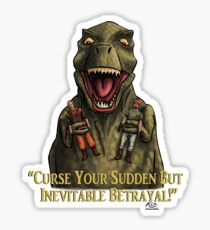 "Firefly: ""Curse your sudden but inevitable betrayal!"" Sticker"