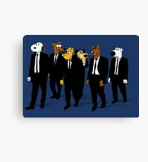 RESERVOIR HOUNDS Canvas Print
