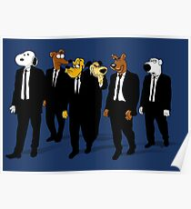 RESERVOIR HOUNDS Poster
