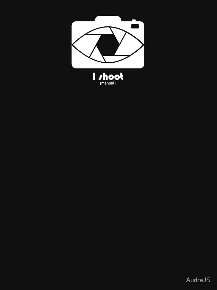I Shoot manual - white by AudraJS