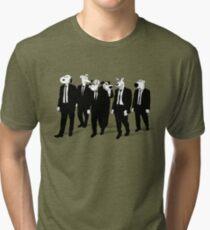 RESERVOIR HOUNDS (b&w) Tri-blend T-Shirt