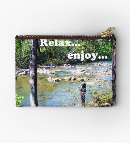 Gone Fishing Card Studio Pouch