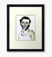 Wolverine Jackman Framed Print