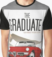 Alfa Romeo Duetto from the Graduate Graphic T-Shirt