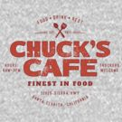 Chuck's Cafe (aged look) by KRDesign
