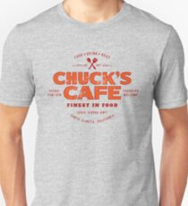 Chuck's Cafe (aged look) T-Shirt