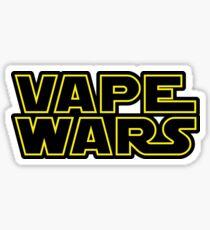 Vape Wars black outline Sticker