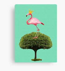 Flamingo Queen Canvas Print