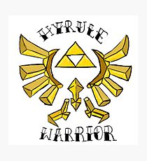 Hyrule Warrior Photographic Print