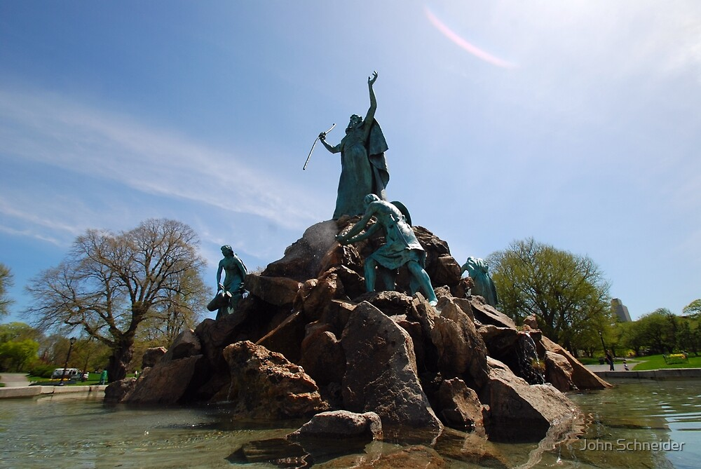 The Moses Fountain by John Schneider
