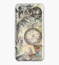 Cheshire Cat Alice in Wonderland  iPhone Case/Skin