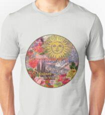 Spain Travel European Trip Vintage Collage  Unisex T-Shirt