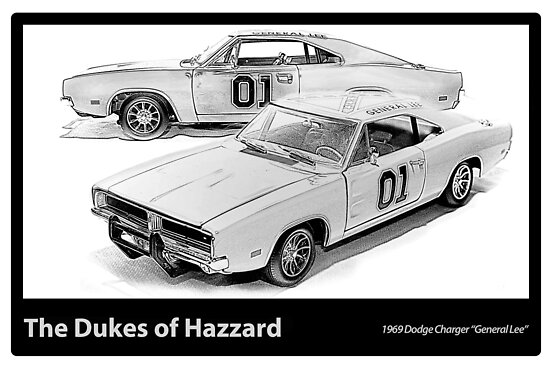 Dukes of Hazzard - 1969 Dodge Charger by Ewan Arnolda