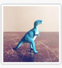 Blue Dinosaur  Sticker