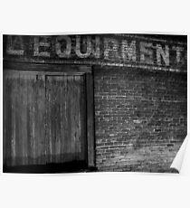 Equipment Poster