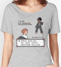 Pulp Fiction fight! Women's Relaxed Fit T-Shirt