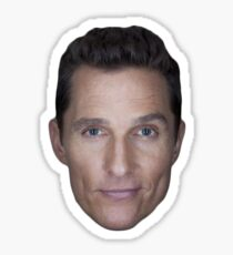 Matthew McConaughey Sticker