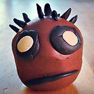 Darth Dain made of clay by Casey Virata