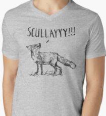 What a Certain Fox Says Men's V-Neck T-Shirt