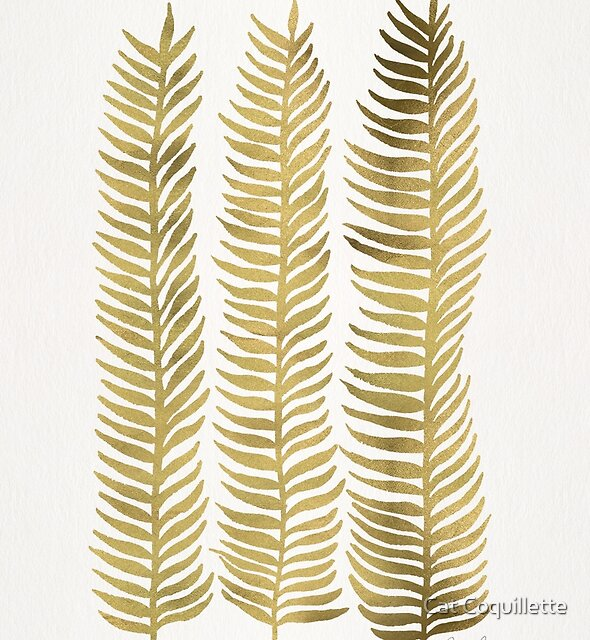 Golden Seaweed by Cat Coquillette