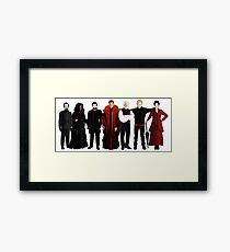 Doctor Who - The Seven Masters Framed Print