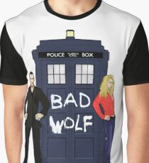 The Ninth Doctor and Rose Graphic T-Shirt