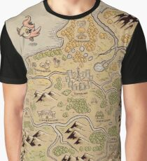 Kalos Map Graphic T-Shirt