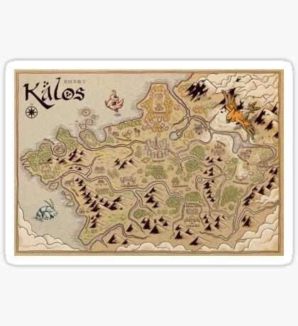 Kalos Map Sticker