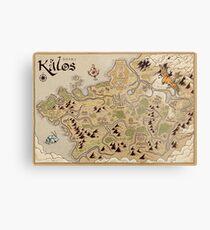 Kalos Karte Metallbild