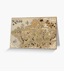 Kalos Map Greeting Card