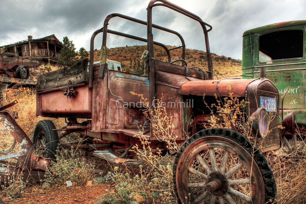 Trip Back in Time - Color 2 by Candy Gemmill